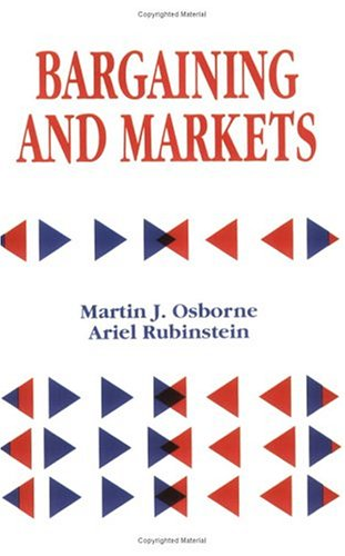 Large book cover: Bargaining and Markets