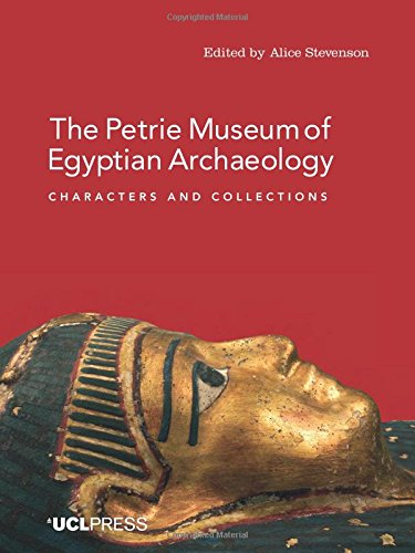 Large book cover: The Petrie Museum of Egyptian Archaeology