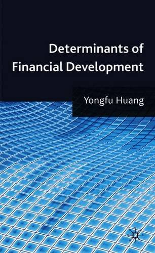 Large book cover: Determinants of Financial Development