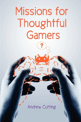 Large book cover: Missions for Thoughtful Gamers