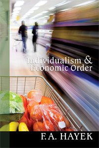 Large book cover: Individualism and Economic Order