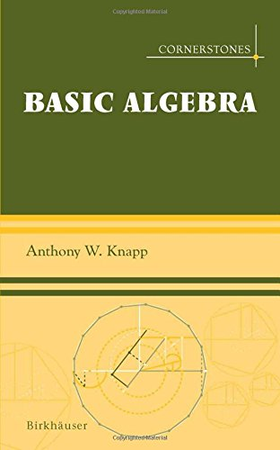 Large book cover: Basic Algebra