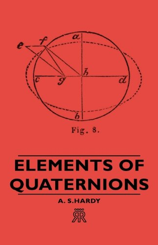 Large book cover: Elements of Quaternions