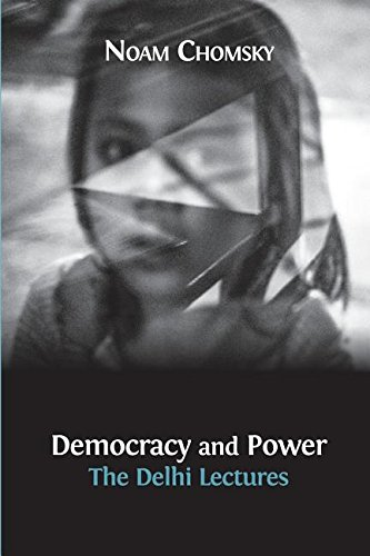 Large book cover: Democracy and Power: The Delhi Lectures
