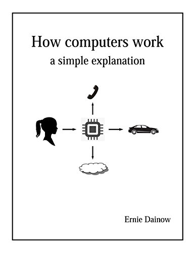 Large book cover: How computers work: A simple explanation