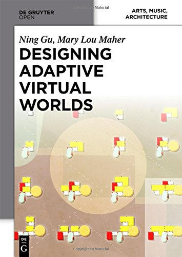 Large book cover: Designing Adaptive Virtual Worlds