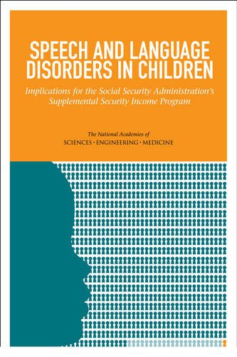 Large book cover: Speech and Language Disorders in Children