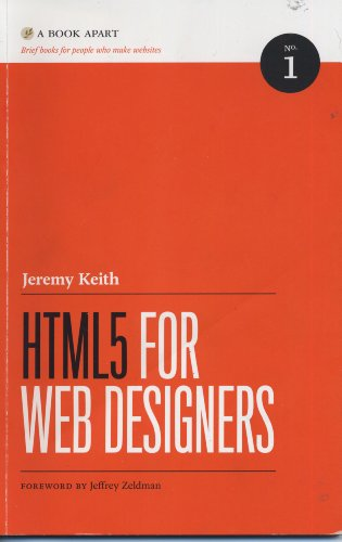 Large book cover: HTML5 For Web Designers