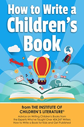 Large book cover: How To Write A Children's Book
