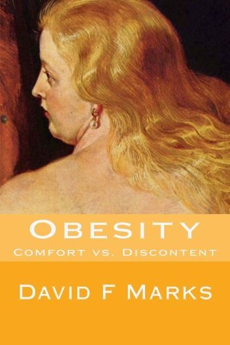 Large book cover: Obesity: Comfort vs. Discontent