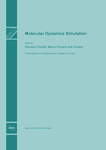 Large book cover: Molecular Dynamics Simulation