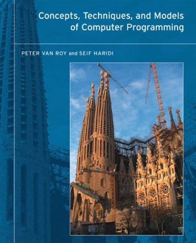 Large book cover: Concepts, Techniques, and Models of Computer Programming