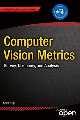 Large book cover: Computer Vision Metrics: Survey, Taxonomy, and Analysis