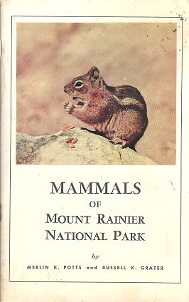 Large book cover: Mammals of Mount Rainier National Park