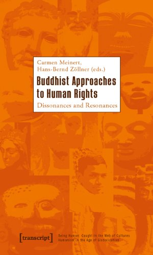 Large book cover: Buddhist Approaches to Human Rights: Dissonances and Resonances