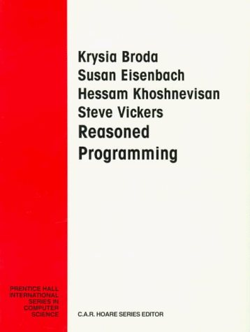 Large book cover: Reasoned Programming