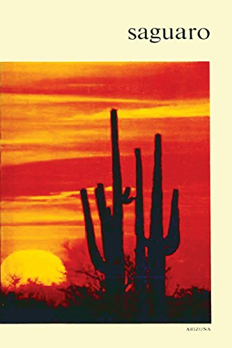 Large book cover: Saguaro National Monument, Arizona