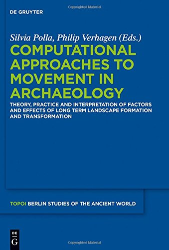 Large book cover: Computational Approaches to the Study of Movement in Archaeology
