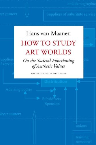 Large book cover: How to Study Art Worlds: On the Societal Functioning of Aesthetic Values