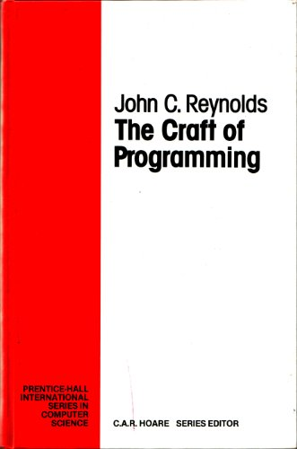 Large book cover: The Craft of Programming