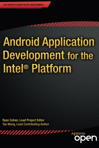 Large book cover: Android Application Development for the Intel Platform