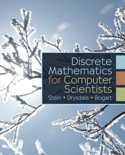 Large book cover: Discrete Math for Computer Science Students