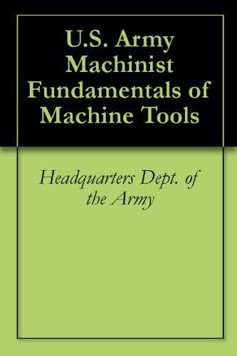 Large book cover: Fundamentals of Machine Tools