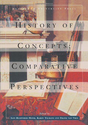 Large book cover: History of Concepts: Comparative Perspectives