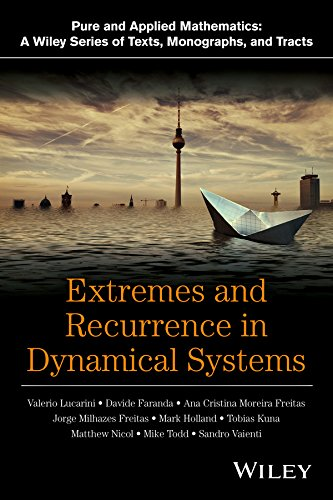 Large book cover: Extremes and Recurrence in Dynamical Systems