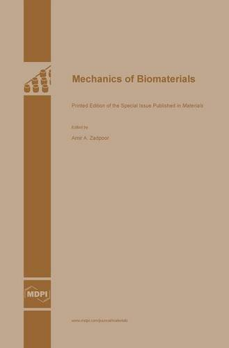 Large book cover: Mechanics of Biomaterials