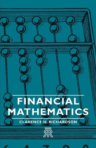 Large book cover: Financial Mathematics
