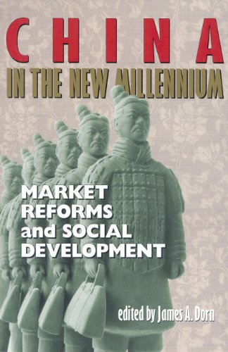Large book cover: China in the New Millennium: Market Reforms and Social Development