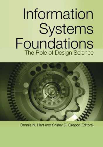 Large book cover: Information Systems Foundations: The Role of Design Science