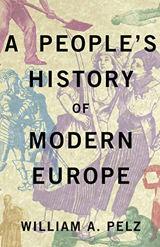Large book cover: A People's History of Modern Europe