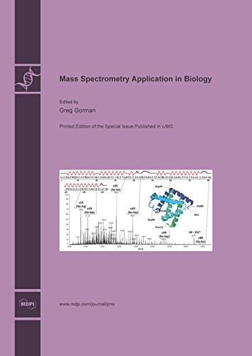 Large book cover: Mass Spectrometry Application in Biology