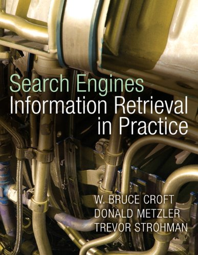 Large book cover: Search Engines: Information Retrieval in Practice