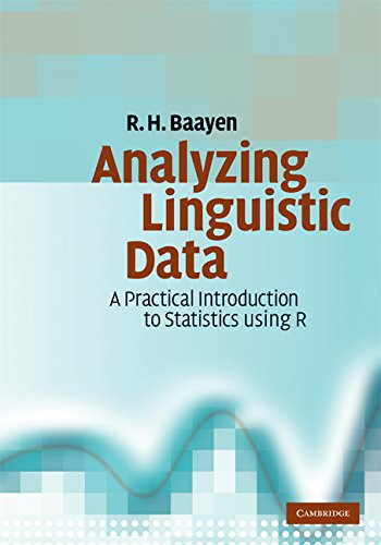 Large book cover: Analyzing Linguistic Data: A Practical Introduction to Statistics