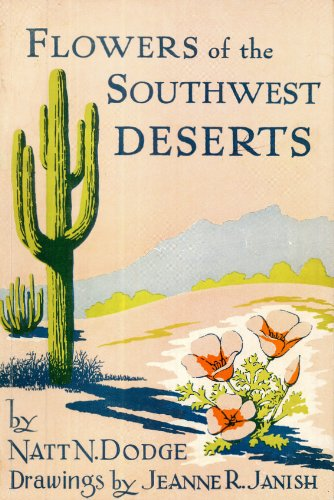 Large book cover: Flowers of the Southwest Deserts