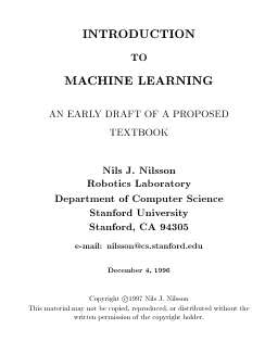 Large book cover: Introduction To Machine Learning