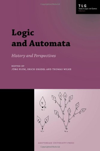 Large book cover: Logic and Automata: History and Perspectives