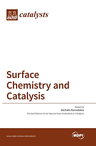 Large book cover: Surface Chemistry and Catalysis