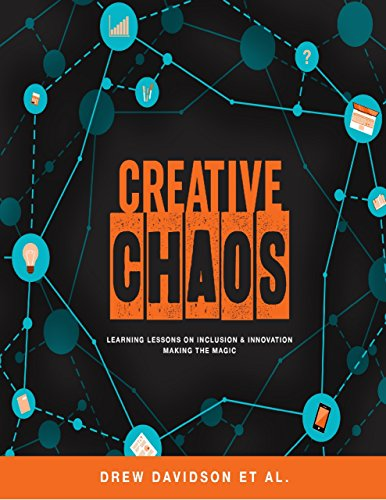 Large book cover: Creative Chaos: Learning Lessons on Inclusion and Innovation