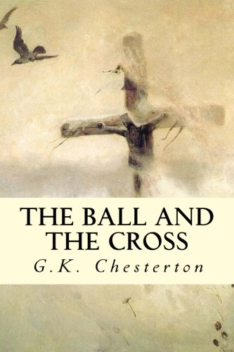 Large book cover: The Ball and the Cross