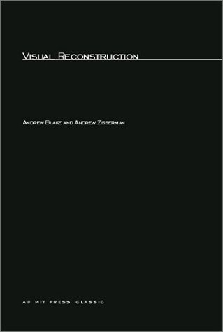 Large book cover: Visual Reconstruction