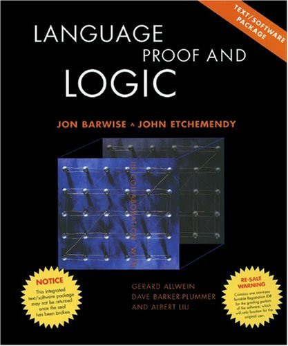 Large book cover: Language, Proof and Logic