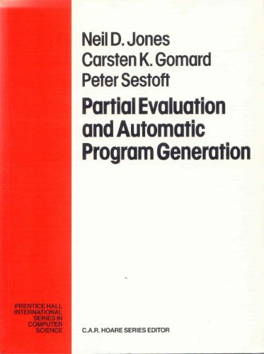 Large book cover: Partial Evaluation and Automatic Program Generation