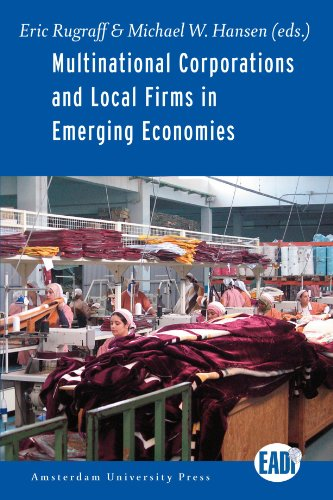 Large book cover: Multinational Corporations and Local Firms in Emerging Economies