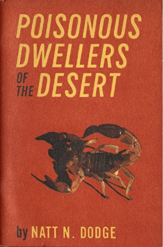 Large book cover: Poisonous Dwellers of the Desert
