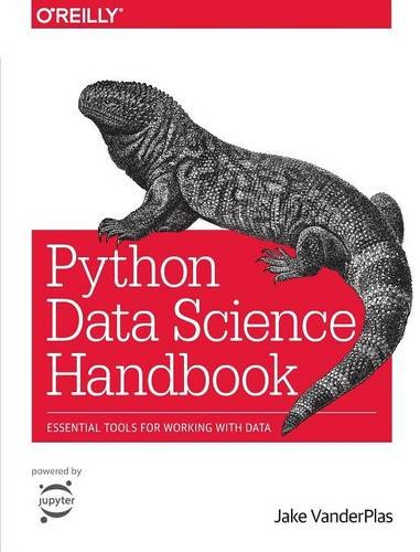 Large book cover: Python Data Science Handbook