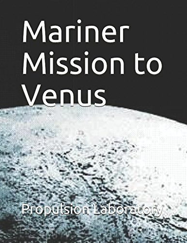 Large book cover: Mariner Mission to Venus